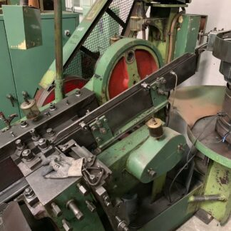 #813-3 Chien Tsai M10x150 thread rolling machine5